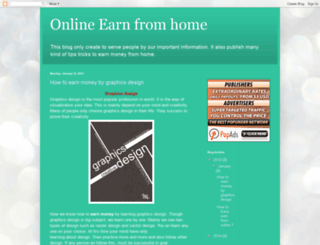 earns2day.blogspot.com screenshot
