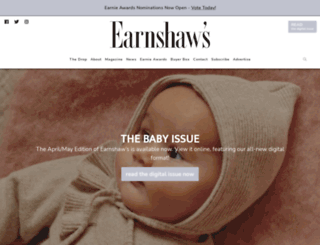 earnshaws.com screenshot