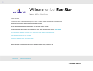earnstar.de screenshot