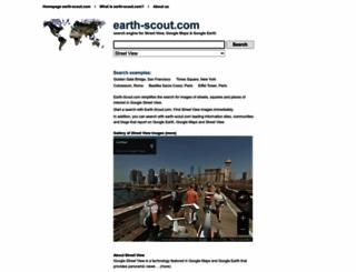 earth-scout.com screenshot