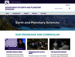 earth.northwestern.edu screenshot