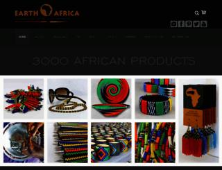 earthafricacurio.com screenshot