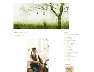 earthandliving.blogspot.com screenshot