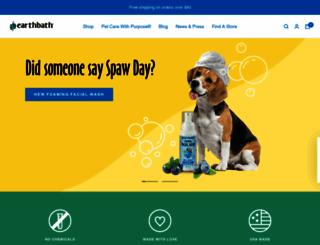 earthbath.com screenshot