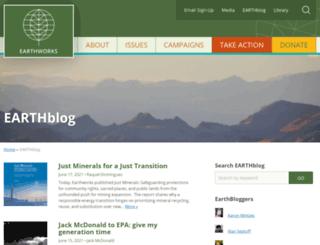 earthblog.org screenshot