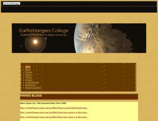 earthchanges.ning.com screenshot