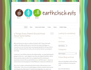 earthchicknits.wordpress.com screenshot