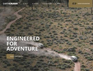 earthcruiser.com.au screenshot