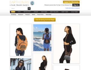earthdivas.com screenshot