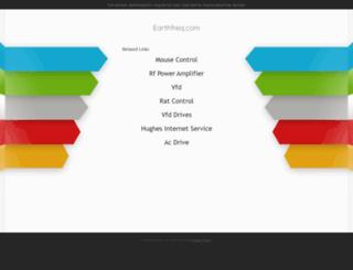earthfreq.com screenshot