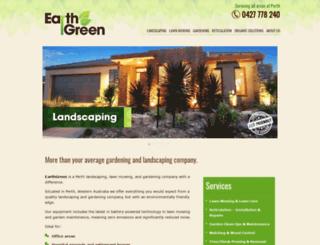 earthgreen.com.au screenshot