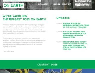 earthhq.foe.org screenshot