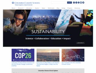 earthinstitute.columbia.edu screenshot