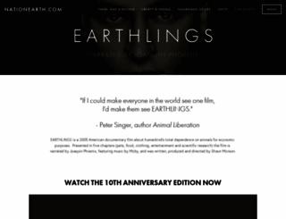 earthlings.com screenshot