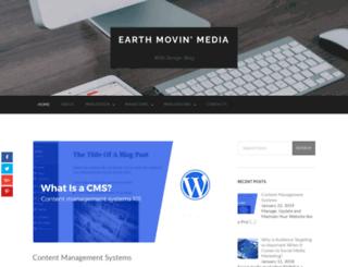 earthmovinmedia.com screenshot