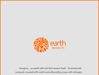earthproducts.co.za screenshot