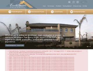 earthstone.co.za screenshot
