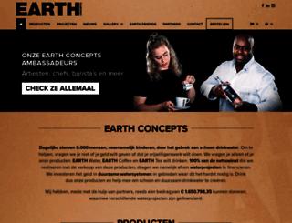 earthwater.nl screenshot
