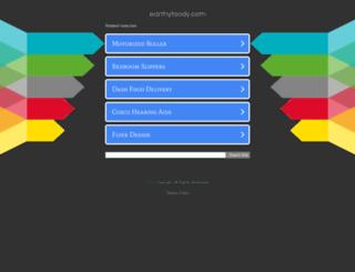earthyfoody.com screenshot