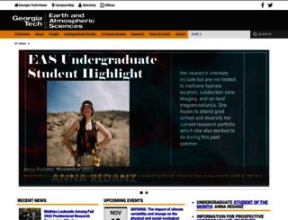 eas.gatech.edu screenshot