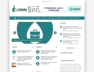 eas.pt screenshot