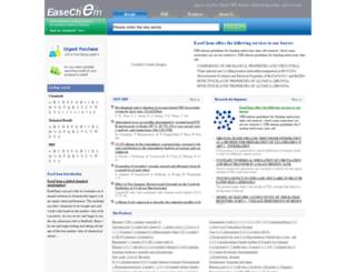 easechem.com screenshot