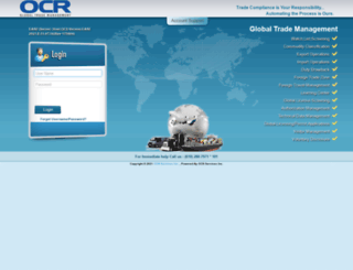 easehost.ocr-inc.com screenshot