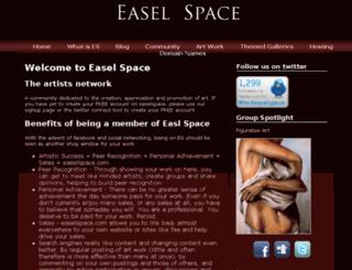 easelspace.co.uk screenshot