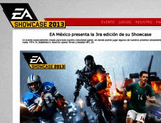 eashowcase.com screenshot