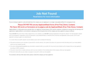 easi.applicantstack.com screenshot