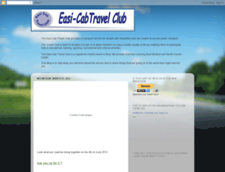 easicab.blogspot.com screenshot