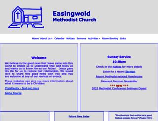 easingwoldmethodists.org.uk screenshot