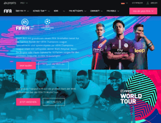 easportsfootball.de screenshot