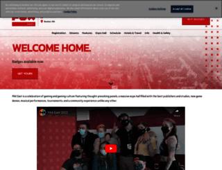 east.paxsite.com screenshot
