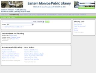 east.sirsi.net screenshot
