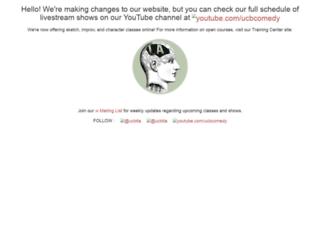 east.ucbtheatre.com screenshot