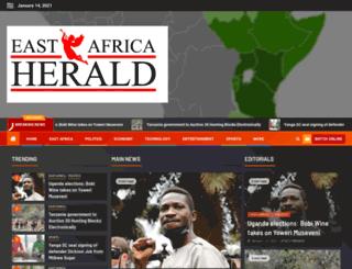 eastafricaherald.com screenshot