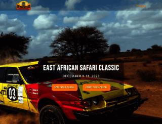 eastafricansafarirally.com screenshot