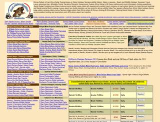 eastafricashuttles.com screenshot