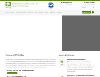 eastafritac.org screenshot