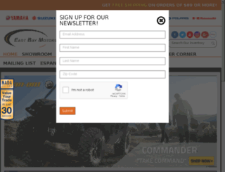 eastbaymotorsports.com screenshot