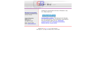 eastbiz.com screenshot