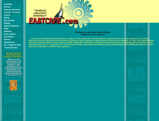 eastcape.com screenshot