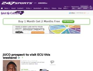 eastcarolina.247sports.com screenshot