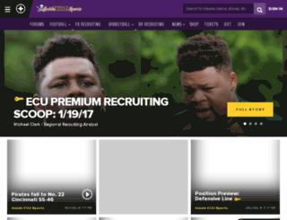 eastcarolina.scout.com screenshot