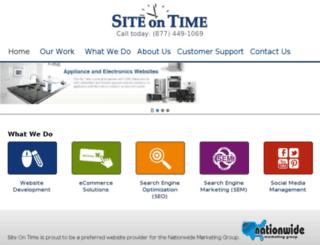 eastcoastappliance.siteontime.com screenshot