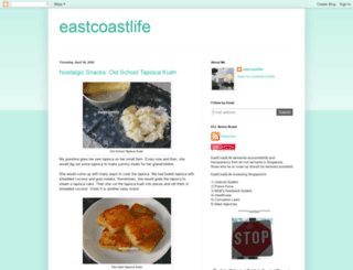 eastcoastlife.blogspot.com screenshot