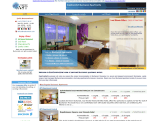 eastcomfort.com screenshot