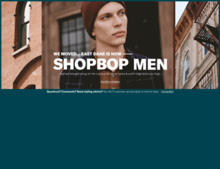 eastdane.com screenshot