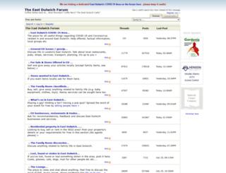 eastdulwichforum.co.uk screenshot
